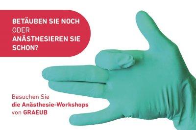 GRAEUB Anästhesie-Workshops für TierärztInnen