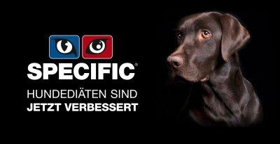 Specific Hundediäten: Neues Design - optimierte Rezeptur