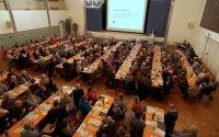 Rund 370 freiwillige Mitarbeiterinnen und Mitarbeiter kamen am Wochenende nach Sempach, um ihr Jahrestreffen abzuhalten; Bildquelle: Marcel Burkhardt