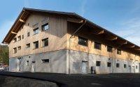 Das neue Multifunktionale Gebäude, genannt MUFU; Bildquelle: obs/Natur- und Tierpark Goldau/Condi Scherrer