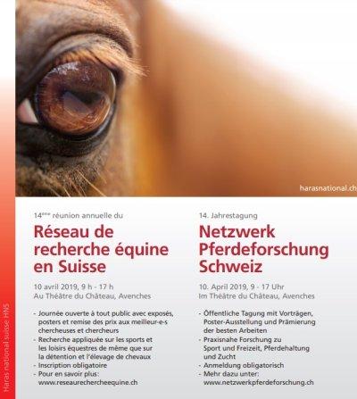 Netzwerktagung Pferdeforschung Schweiz 2019