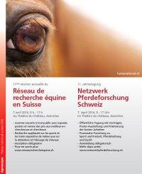 11. Netzwerktagung Pferdeforschung Schweiz