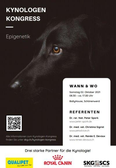 Kynologen-Kongress der SKG 2021: Epigenetik in der Hundezucht
