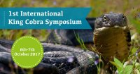 First International King Cobra Symposium 2017